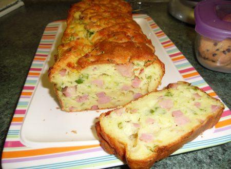 Plum-cake Salato senza glutine
