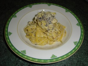 Fettuccine con tartufo