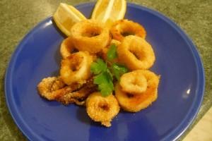 Finto fritto di Calamari